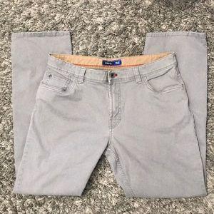 Izod - Straight - Grey Pants